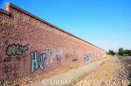 Street Art of San Jose (85 & Pollard (Wall 2)) 6.7.11