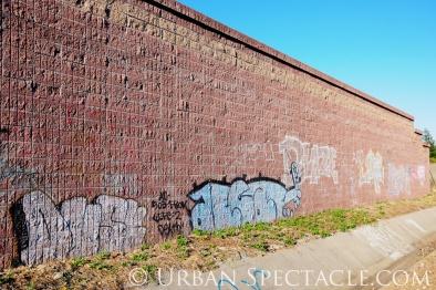 Street Art of San Jose (85 & Pollard (Wall)) 6.7.11