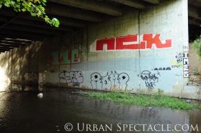 Street Art of San Jose (Homeless Village 16) 11.11.10