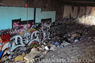 Street Art of San Jose (Homeless Village 2) 11.11.10
