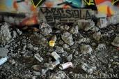 Street Art of San Jose (Homeless Village (Cans)) 11.11.10