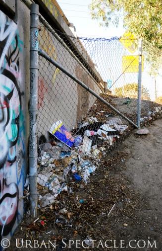 Street Art of San Jose (Homeless Village entrance) 11.11.10