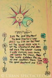 Street Art of San Jose (Homeless Village (Street Poem)) 11.11.10
