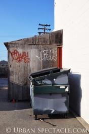 Street Art of San Jose (San Carlos alley II) 3.24.10