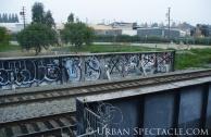 Street Art of San Jose (Train Tracks) 2.18.10