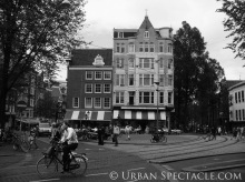 Streets of Amsterdam (Bicyclist) 8.12.09
