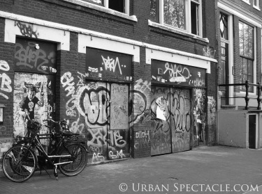 Streets of Amsterdam (Bike & Graffiti) 8.14.09