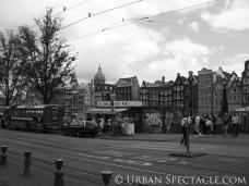 Streets of Amsterdam (Damrak) 8.11.09