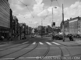 Streets of Amsterdam (Damrak) 8.14.09
