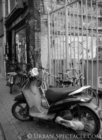 Streets of Amsterdam (Motorcycle) 8.13.09