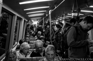 Streets of San Francisco (BART Lady) 1.22.15