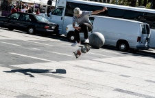 Streets of San Francisco (Embarcadero skater) 8.5.15