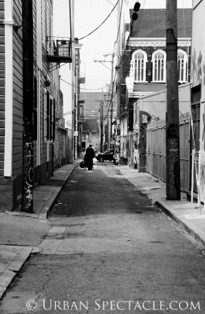 Streets of San Francisco (Solitary Figure) 8.4.11