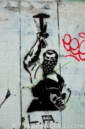 Street Art of San Francisco (Masked Man Wall) 1.20.12
