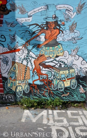 Street Art of San Francisco (Mother Tree) 3.25.10