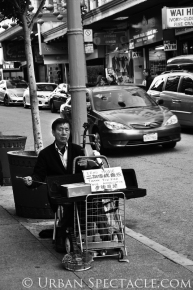 Streets of San Francisco (Chinatown Music) 8.12.13